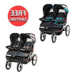 Outdoor Baby Toddler Double Twin Travel Stroller for Jog Wal