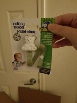 Baby Buddy Pacifier Holder Olive