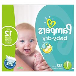 Pampers Baby Dry Diapers Size 1 Economy Plus Pack - 252 Coun