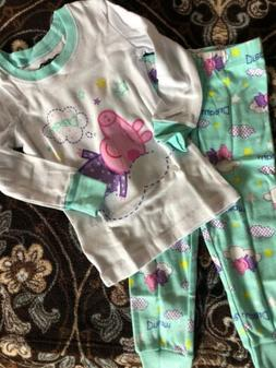 Peppa Pig Pajamas For Baby Girl 2T Months