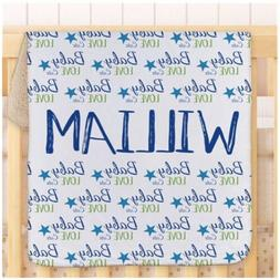 Personalized Gifts for Kids and Babies Baby Boy Words Sherpa
