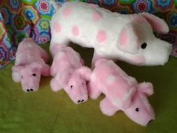 Pig Mother & Babies Stuffed Animal Pattern for you to Sew UN