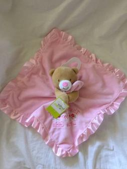 BABY STARTERS Pink Floral THANK HEAVEN FOR LITTLE GIRLS Bear