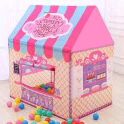 Pink Princess Castle Play House Large Indoor/Outdoor Tents F