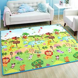 Play mat baby Care XPE Foam Floor Gym Slip thickening Revers