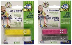 Baby Buddy Secure-A-Toy Safety Strap, Girls