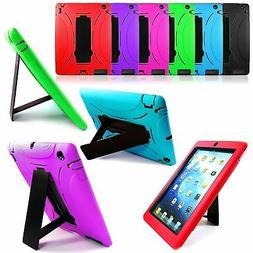 shockproof hard kickstand case cover for ipad