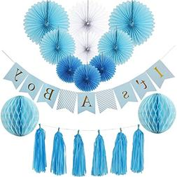 Baby Shower Decorations for Boy kit, It's A Boy, Banner, T