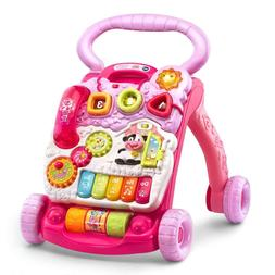 VTech Sit-to-Stand Learning Walker, Pink new, toys for girl