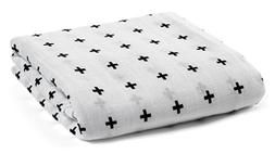 Special Luxuriously Soft Bamboobee Organic Muslin Swaddle Bl