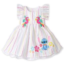 DISNEY STORE SUPER SWEET STITCH WOVEN DRESS FOR BABY GIRL MA