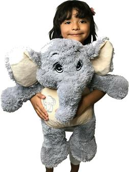 Stuffed Elephant Animal Plush Soft Toy Adorable Gifts for Ki
