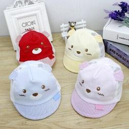 Summer Unisex Baby Cap Cute Cartoon Pattern Sun Hats For Boy