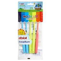 Super Value Pack 5ct BPA Free Baby Toothbrushes Step 1 for A