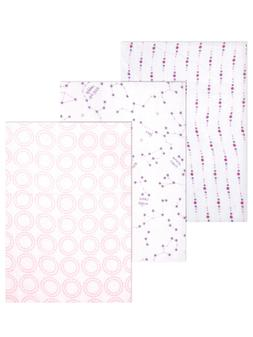 "Hudson Baby ""Constellation Medley"" 3-Pack Swaddle Blankets -"