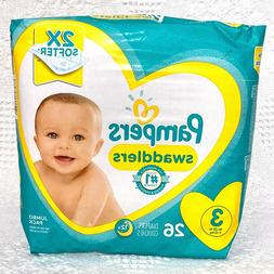 Pampers Swaddlers Diapers Size 3 26 Count for Your Baby 16 -