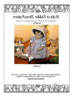Sweet Dress and Hat Pattern for Baby Sasha and Toddler~ Simp