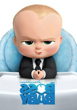 THE BOSS BABY MOVIE POSTER | PRINT  FAST SHIP