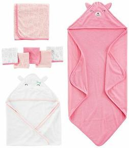 Simple Joys by Carter's Baby Girls' 8-Piece Towel and Washcl
