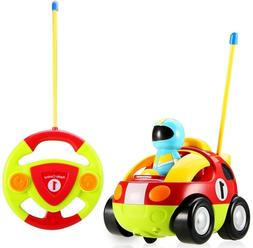 Toys For Baby Toddlers Kids Boys Learning RC Cartoon Racing