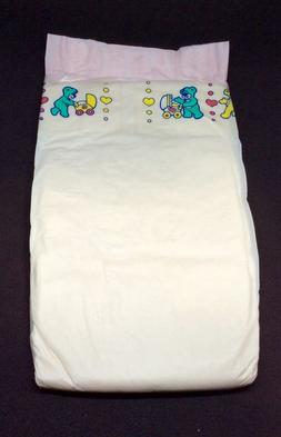 Vintage Pampers Phases Baby-Dry Plus Diaper for Girls Sz Mid