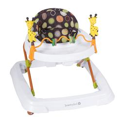 Baby Trend Walker Safari Kingdom Removable Toy Bar Height Ad