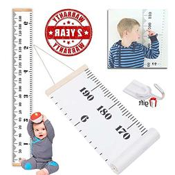 THINCOWIN Wall Growth Chart Wall Hanging Height Chart for ba