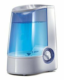 Vicks Warm Mist Humidifier, Vicks Humidifier for Bedrooms, B