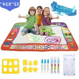Water Painting Drawing Writing Board Mat 32''x24'' For Baby