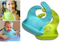 waterproof silicone bib easily wipes