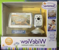 Summer Infant Wide View Video Baby Monitor - Adjustable Swiv