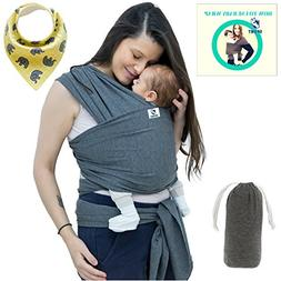 Baby Wrap Carrier For Boys and Girls By SSL Gender Neutral B